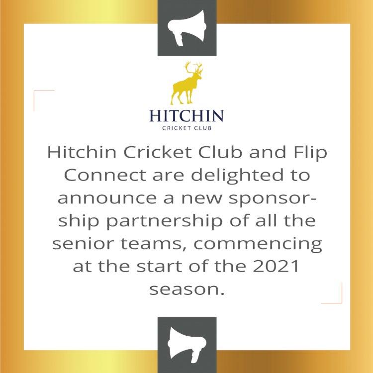 Hitchin Cricket Club Announces New Sponsorship